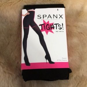 SPANX Tights High Waisted Size A All Day Shaping